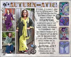 Art to Wearhouse | Wearable Art Clothing and Accessories | My Autumn-atic Line from Fall 2013