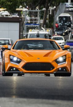 Zenvo ST1 I wish this car wasn't terrible because it looks soooo good.