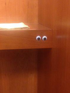 Sometimes I feel like somebody's watching me... https://talesfrom3lhell.wordpress.com/2016/03/03/sometimes-i-feel-like-somebodys-watching-me/