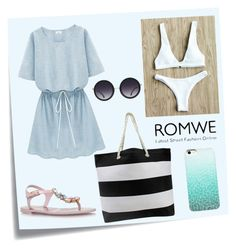 """""""hot summer"""" by starxxx ❤ liked on Polyvore featuring Post-It, Dolce&Gabbana and Alice + Olivia"""