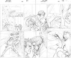superman adam kubert pencils - Google Search