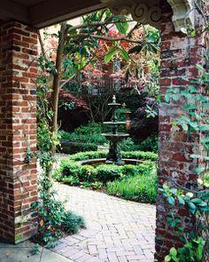 Image detail for -Savannah Garden, Savannah Photo Outings