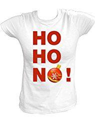 Artdiktat Damen T-Shirt - HO HO NO