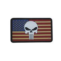 5ive Star Gear Vintage Flag Punisher Patch- $2.95