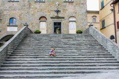 A Villa in Tuscany: In Piazza della Republica in Cortona Rent A Villa, Italy Travel, Tuscany, Building, Schools, Dreams, Cooking, Summer, Kitchen