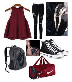 """""""Untitled #16"""" by kyleewhite on Polyvore featuring NIKE, Converse and Miss Selfridge"""