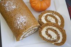 Easy Pumpkin Cake Roll Recipe | Divas Can Cook