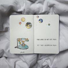 Her Aya Bir Resim Çizen Ana Ye'den Not Defteri İllüstrasyonu Bullet Journal Art, Bullet Journal Inspiration, Journal Quotes, Art Journal Pages, Drawing Quotes, Art Quotes, Drawing Ideas, Drawing Journal, Art Diary