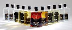 Magna Cum Laude PALINKA alcohol package design by Barbara Baska, via Behance Beverage Packaging, Packaging Design, Alcohol, Behance, Candles, Home Decor, Rubbing Alcohol, Decoration Home, Room Decor