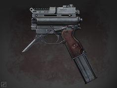 Concept Machine Pistol
