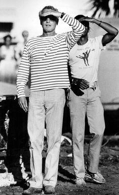 Palm Beach 1983.Paul Newman.