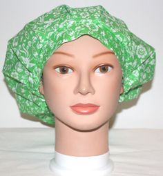 21 Green Floral Bouffant by dpcustomcreations on Etsy, $5.00