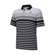 Find Adidas mens golf shirts and more at OnlyGolfApparel, like the ClimaCool Gradient Birdseye Stripe Polo with a Birdseye Pique gradiated all over stripe.