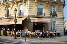 Paris in Springtime- any outdoor bistro, cafe