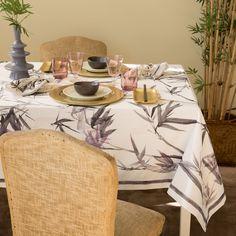 Mantel y Servilletas Algodón Estampado Bamboo - Manteles - Mesa | Zara Home España