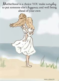 My kids have always come first! #unconditional This drawing makes me think of me and Alyx!