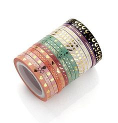 Agutape AGU Foil Gold Skinny Washi Tape DIY Japanese Masking Tape Supplies Set of 16 *** You can get more details by clicking on the image. (This is an affiliate link) Gold Washi Tape, Washi Tape Crafts, Masking Tape, Scotch, Bujo Inspiration, Cute Stationary, Planner Supplies, Art Supplies, Office Supplies
