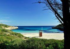 Strand am Insotel Cala Mandia (Mallorca)