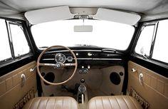 Custom VW Bug Interior | 1965 Custom VW Beetle Convertible For Sale @ Oldbug.com