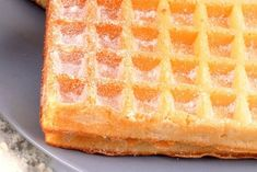 Waffle recipe: the best recipe - Waffles: the best recipe - Crepe Recipes, Waffle Recipes, Pancake Recipes, Pavlova, Parfait, Crepes And Waffles, Pancakes, Good Food, Yummy Food