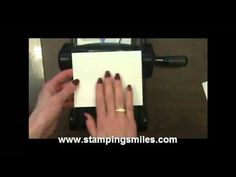 How to make a double-embossed card with a Sizzix Embossing Folder & SU Simply Scored Scoring Tool