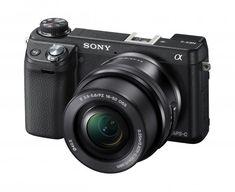 The Sony NEX–6
