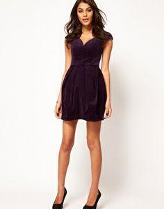ASOS Structured Dress In Velvet http://www.asos.com/ASOS/ASOS-Structured-Dress-In-Velvet/Prod/pgeproduct.aspx?iid=2538972=8799=0=1=200=-1=Purple=35718=2134=Affiliate=QFGLnEolOWg-phvDt.9Sbx6JzxfKLtkE0g#