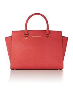 Selma pink tote bag