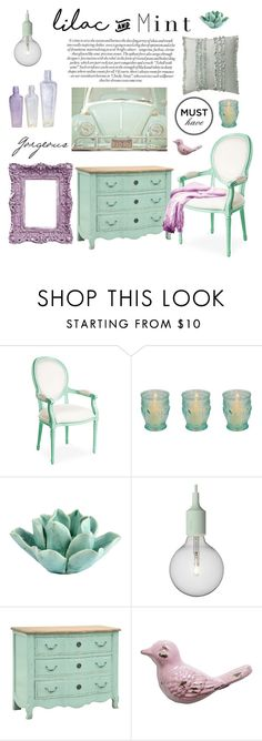 """Lilac Mint"" by missblue1 ❤ liked on Polyvore featuring interior, interiors, interior design, home, home decor, interior decorating, HomArt, Muuto, colorchallenge and lilacandmint"
