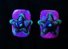 Iridescent! Star Jewelry, Handcrafted Jewelry, Iridescent, Whimsical, Skull, Stars, Handmade Chain Jewelry, Handmade Jewelry, Handmade Jewellery