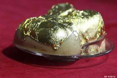 Most Expensive Dessert Cake In The World_Angelito Araneta Jr's has come up with a 24-carat edible gold leaf & 0.2-carat diamonds version for those with a sweet tooth for luxury. These gold & diamond rabbits are priced at just $485, had is just one of the 13 made by order for select rich Chinese customers for the new lunar Year. Araneta Jr. also revealed that 1 of his customers also ordered a 2-diamond gold encrusted rice cake priced at $2,700 making it his most expensive sale to date.