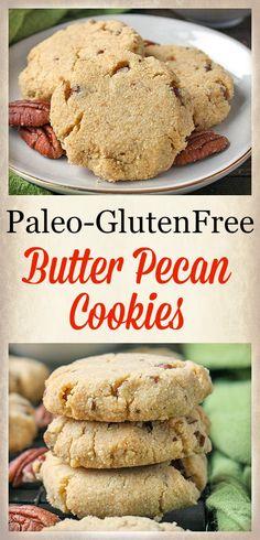Paleo Butter Pecan Cookies - Jay's Baking Me Crazy