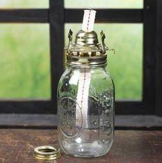 Mason Jar Oil Lamp Kit - Lamp Making - Basic Craft Supplies - Craft Supplies