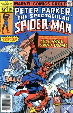Peter Parker, The Spectacular Spider-Man # 18 by Gil Kane & Mike Esposito