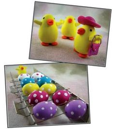 Easter Chick and Eggs