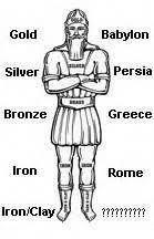 image of the statue in king nebuchadnezzar's dream