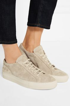 Rubber sole measures approximately 25mm/ 1 inch Beige suede Lace-up front Made in Italy