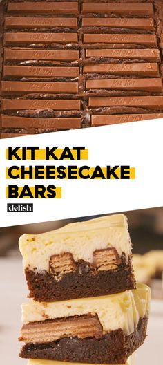 Kit Kat Cheesecake Bars Are Almost Too DeadlyDelish