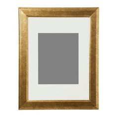 "IKEA - VIRSERUM, Frame, gold, , 8x10"" photo fits if used with the mat.You can enhance and add depth to your picture by using the accompanying mount when you frame it.PH-neutral mat; will not discolor the picture.The frame can be used horizontally or vertically, whichever suits you or your picture best."
