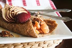 Buckwheat Apple Cottage Pancakes-7 by Sonia! The Healthy Foodie, via Flickr