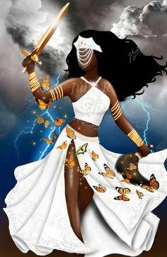 Iansa / Oya - see http://jumqwt74jagry7.deviantart.com/art/Iansa-Oya-660586679