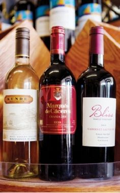Find out where to get these select wines and which meals they complement! #happyhour