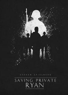 saving private ryan steven spielberg movie movies classic posters