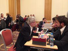 Último día de promoción en Polonia, workshop en Varsovia.