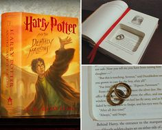 """Open a magical new chapter in your love story with our """"Always"""" quote Harry Potter ring bearer book. Find in our shop by tapping link in bio then search """"deathly. Wishing you a wonderful Wednesday Kara Harry Potter Ring, Harry Potter Gifts, Always Quotes, Secret Safe, Book Safe, Wonderful Wednesday, New Chapter, Ring Bearer, Love Story"""