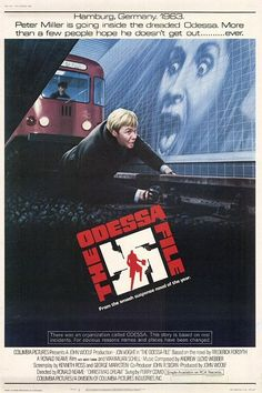 Le dossier Odessa, film de Ronald Neame, sorti en 1974, avec John Voight.