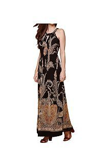 View product Yumi Paisley Print Maxi Dress