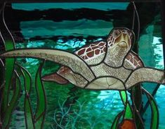 sea turtle mosaic pattern - Google Search