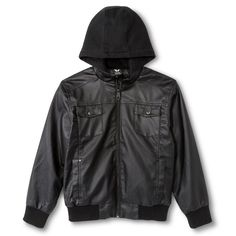 Shaun - White Boys' Jacket - Black