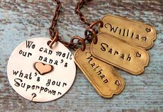 @elaine04 you need this! Nana Grandma Superpower Personalized Hand by lilybrookevintage